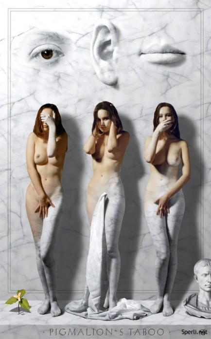 Сюрреализм в шикарных работах George Grie.