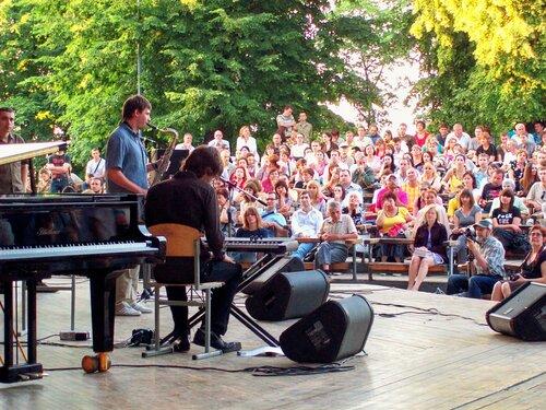 Киев.Мариинский парк 20 июня 2009г.