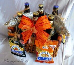 «Корзинка с Пивом» 7,00 LVL + цена пива