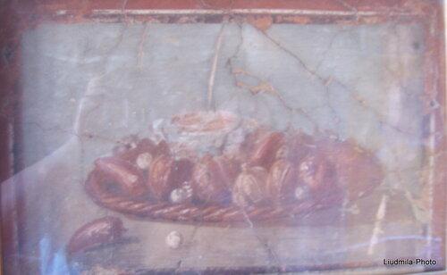 Эрколано. Рисунки на стенах
