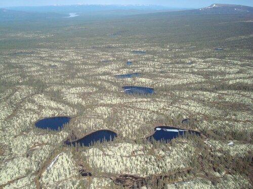 Озёра плато Путорана