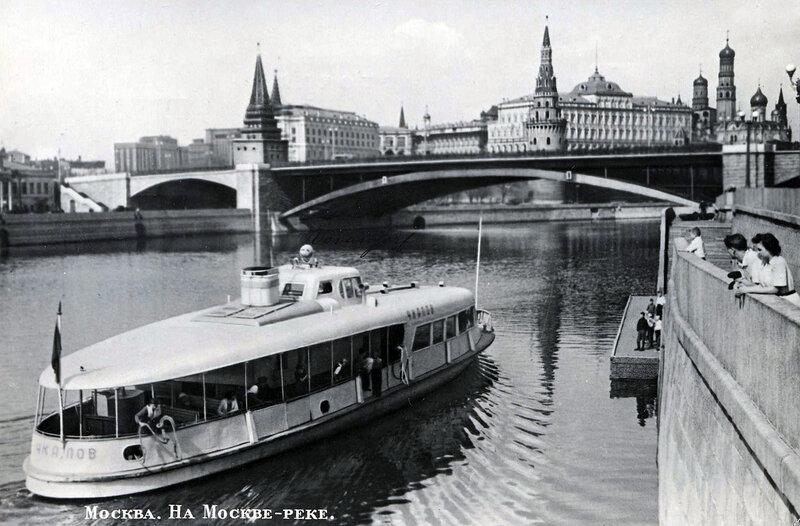 Москва. На Москве-реке