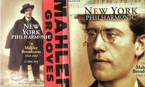 (Классическая симфоническая музыка) New York Philharmonic- The Mahler Broadcasts, 12CD - 1998, FLAC (tracks+.cue), lossless