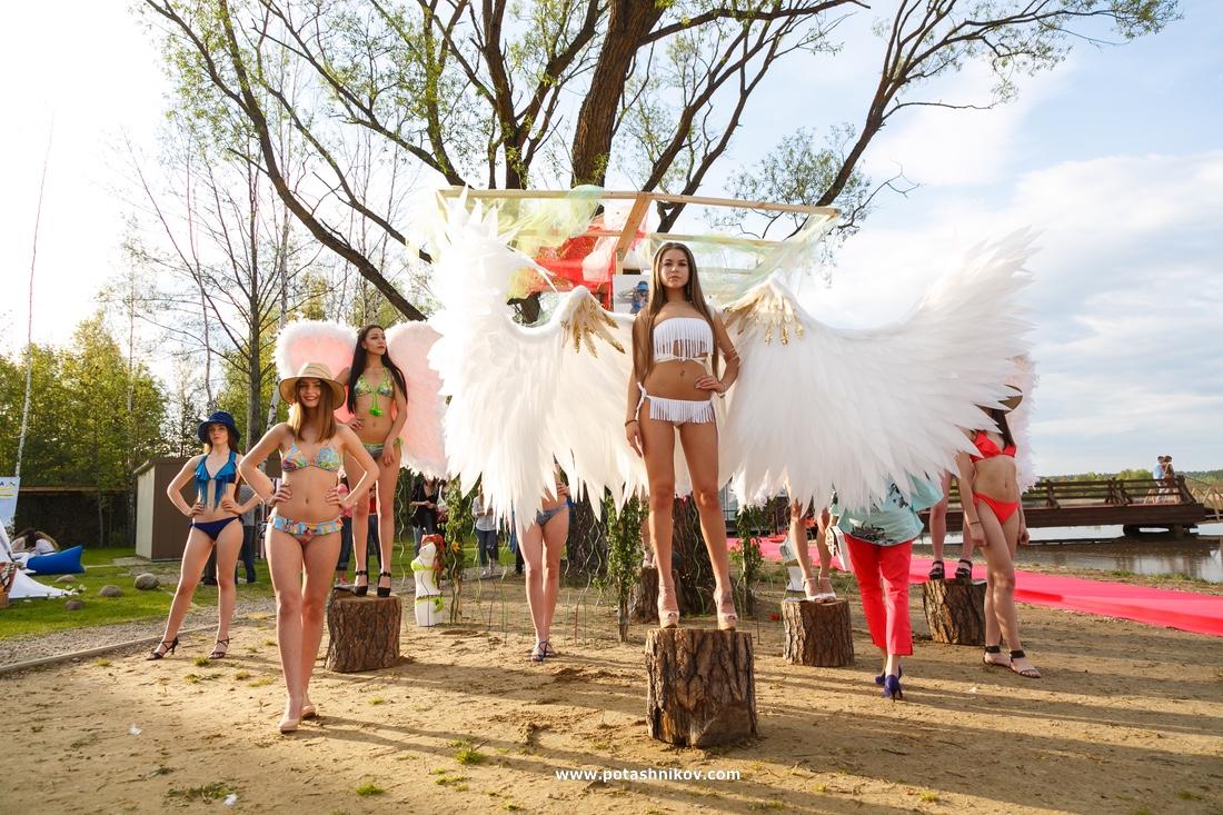 Масштабное модное шоу на Минском море - большой фотоотчет с ProModaParty в Riviera Country Club