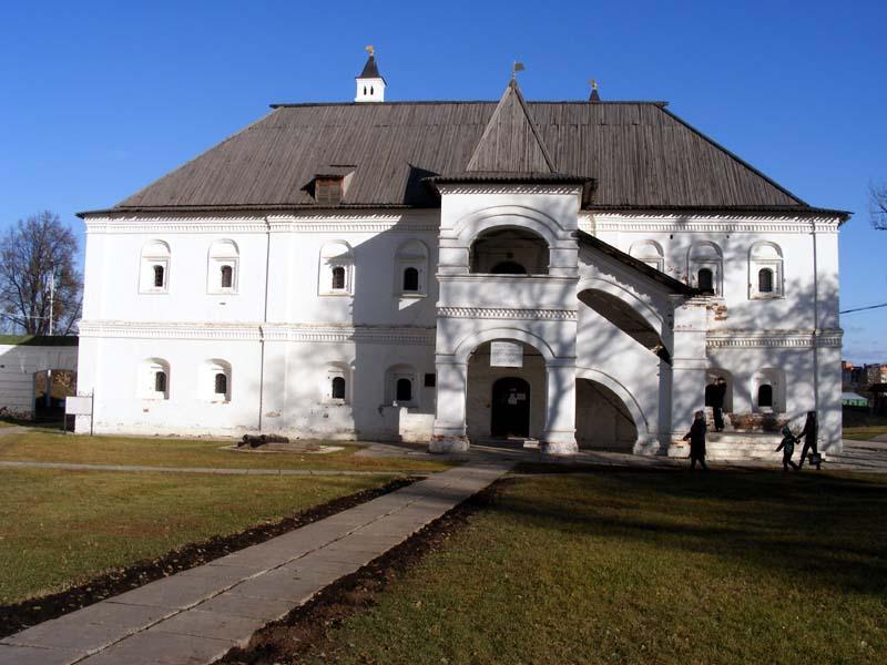 Рязанский Кремль, Певческий корпус