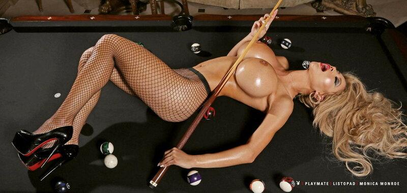 PMOY 2015 Slovakia Monica Monroe in Playboy