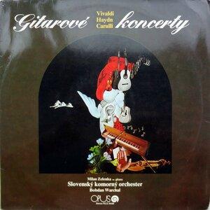 Milan Zelenka, gitara & Slovenský Komorný Orchester, dir. Bohdan Warchal – Gitarové Koncerty (1983) [Opus, 9111 0440]