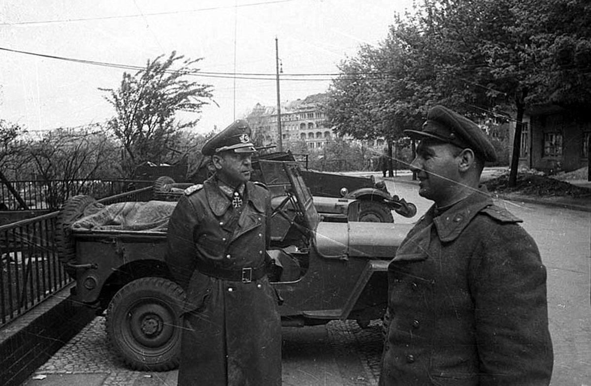 Падение Берлина на фотографиях весны 1945 года (24)