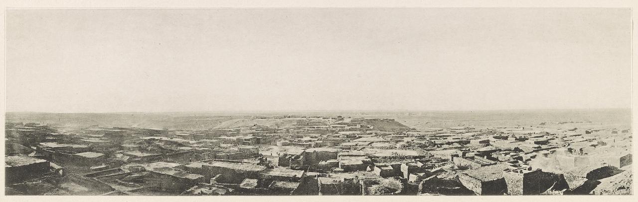 1916. Дара. Панорама, открывающаяся с минарета Большой мечети. Сирия