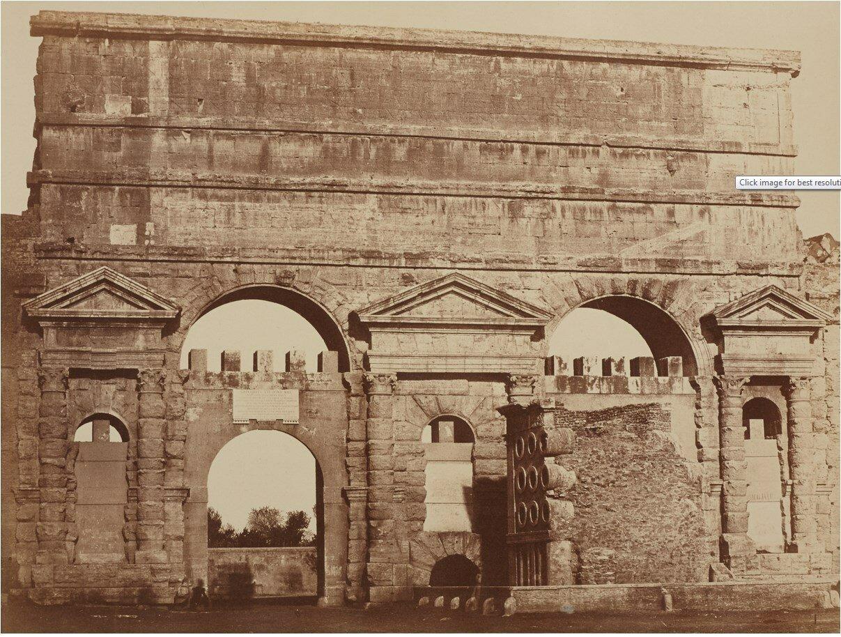 Порта-Маджоре. 1850-е.