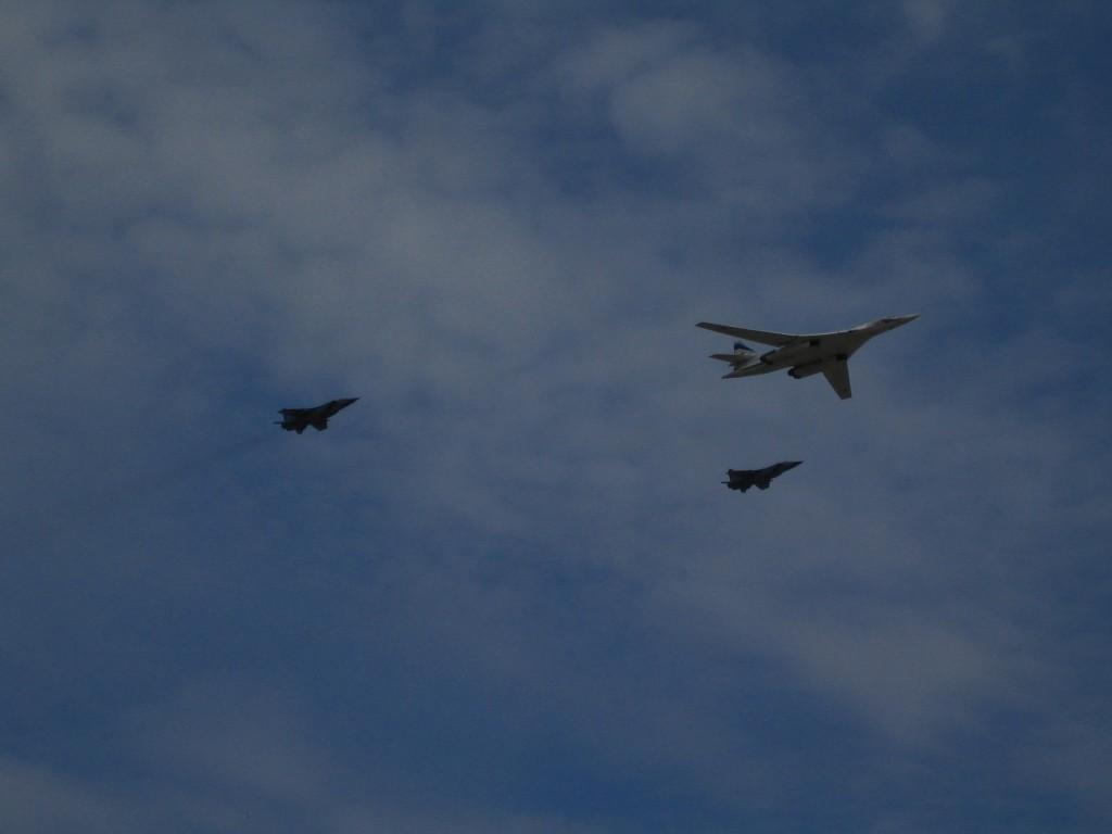 Ту-160 «Белый лебедь» и МиГ-31