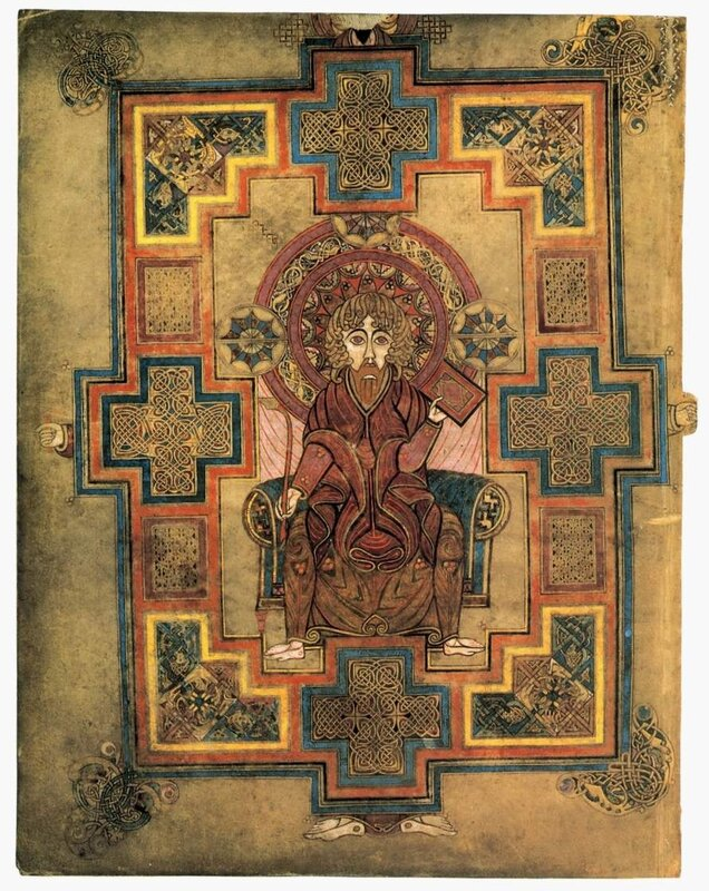 Евангелист Иоанн с принадлежностями писца