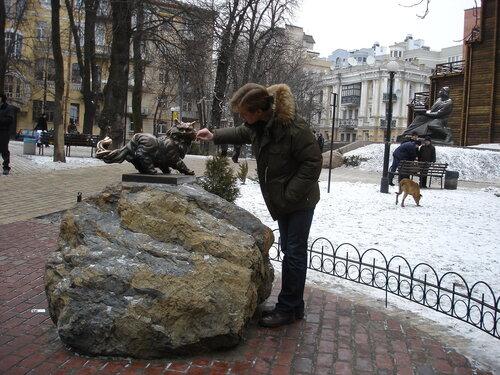 ivleskov — «памятник коту Филимону» на Яндекс.Фотках
