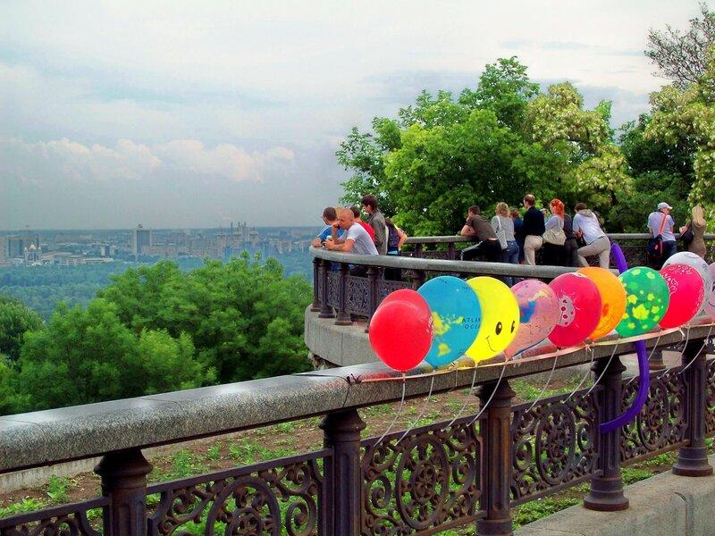 Старая площадка обозрения Мариинского парка