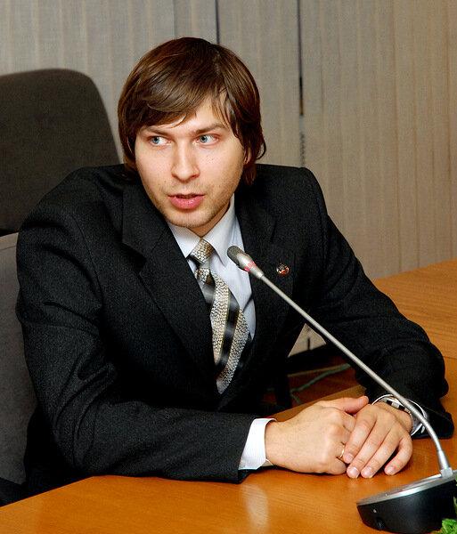 Евгений Сидоров, председатель комиссии по работе с молодежью региона «Москва и Московская область»