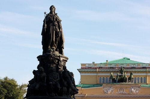 Памятник ЕКАТЕРИНЕ II (деталь), г. Санкт-Петербург