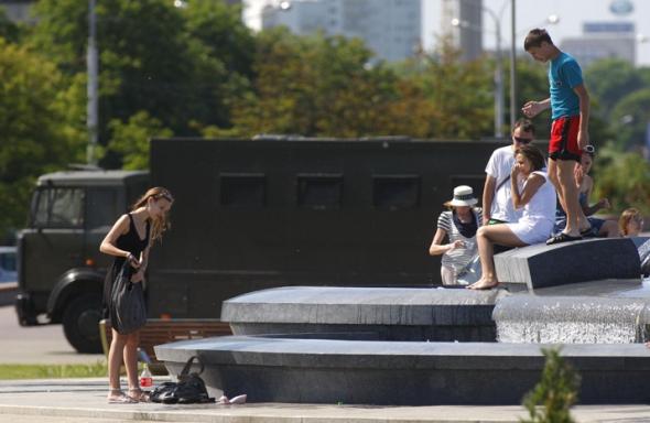 На 17 августа в Беларуси из-за жары объявлено штормовое предупреждение