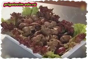 Как готовить Бараньи почки по уйгурски.