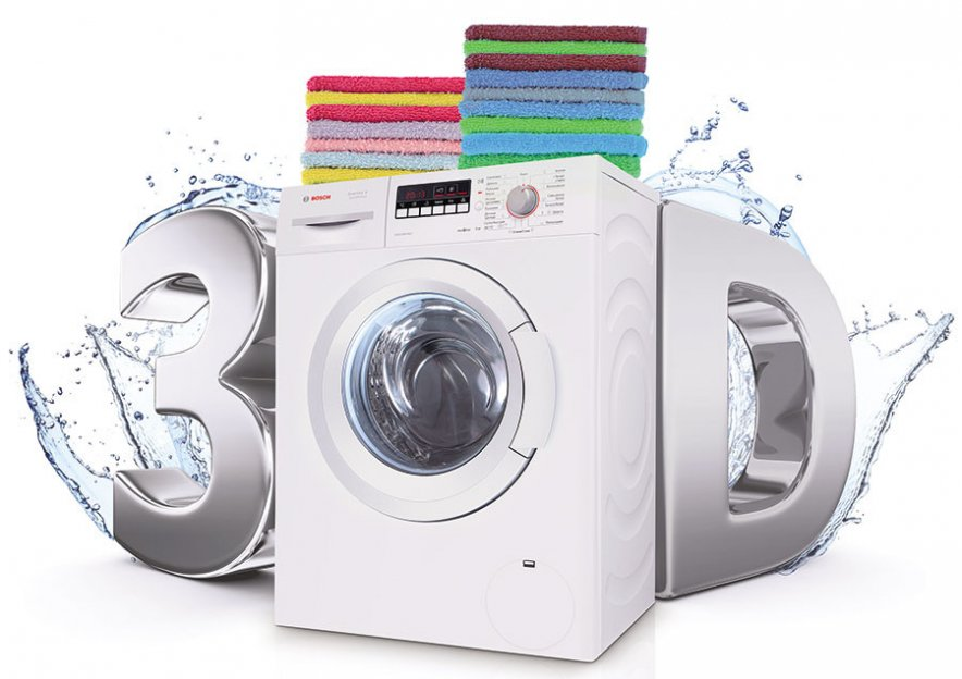Bosch 3D-Washing стиральные машины Краснодар