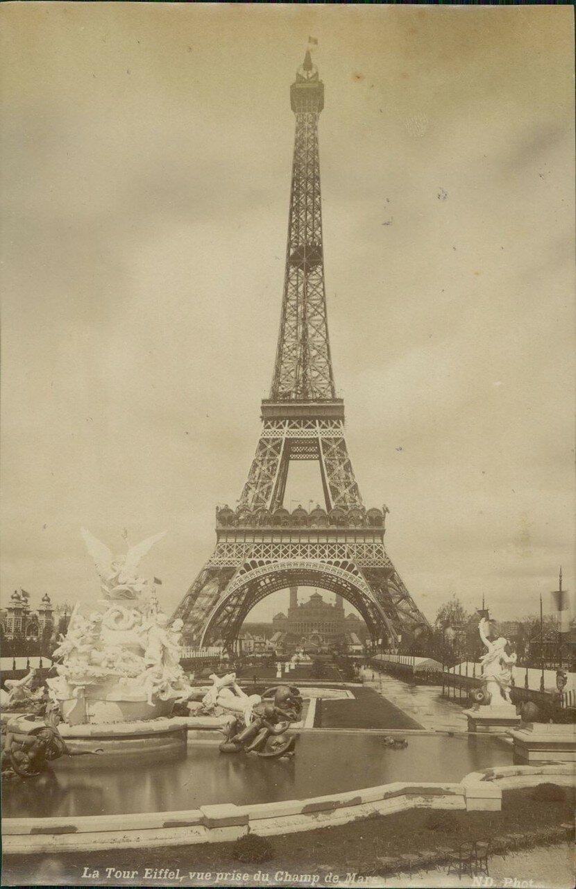 1889. Эйфелева башня