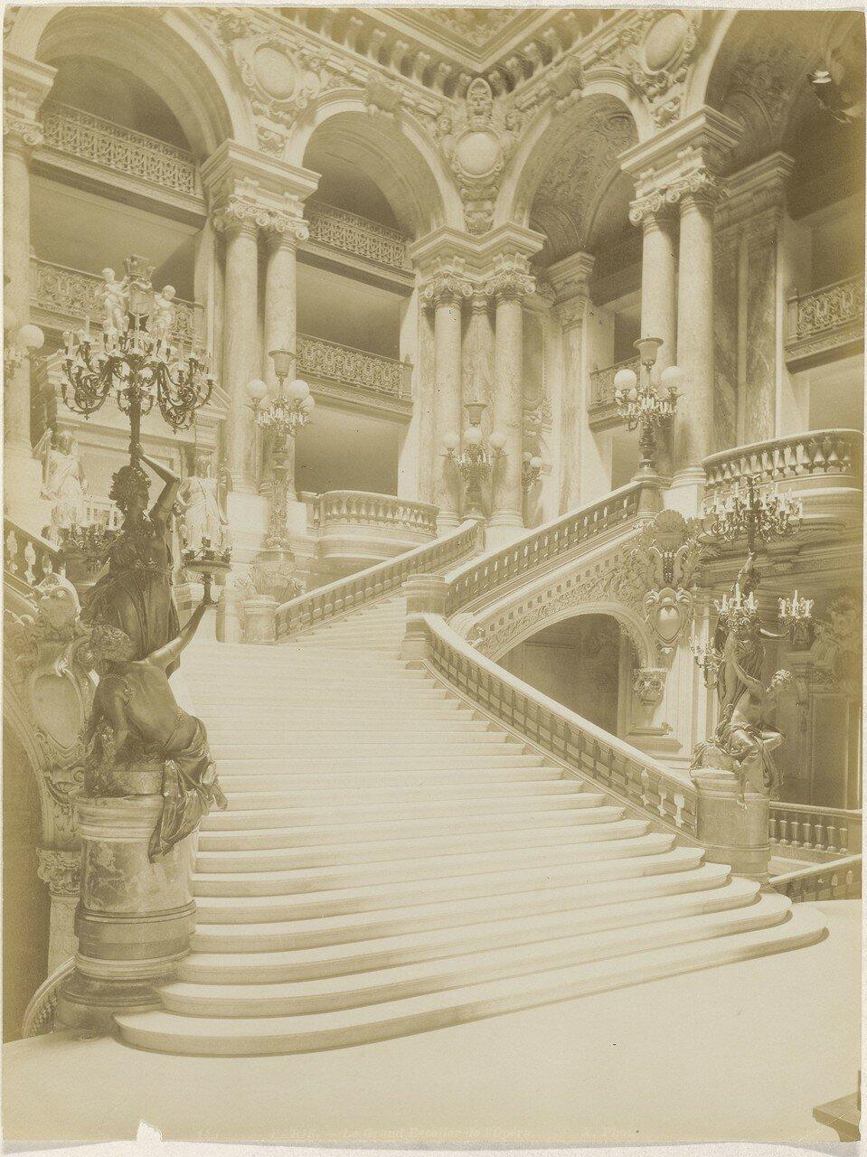 1870-е. Новая Опера. Лестница