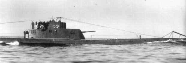 Подводная лодка С-2