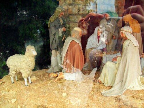 Рождественский вертеп в Печерской лавре