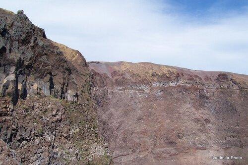 Прогулка к кратеру Везувия