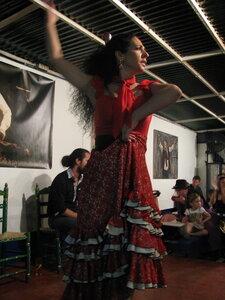 Севилья. На концерте в баре Carboneria