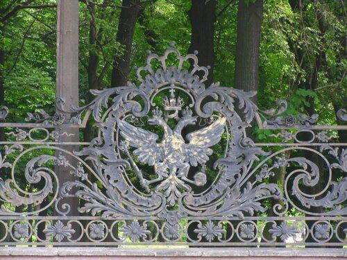 Бывшая решетка Эрмитажа, ныне решетка парка им. 9 января