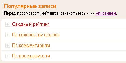 Яндекс.Блоги