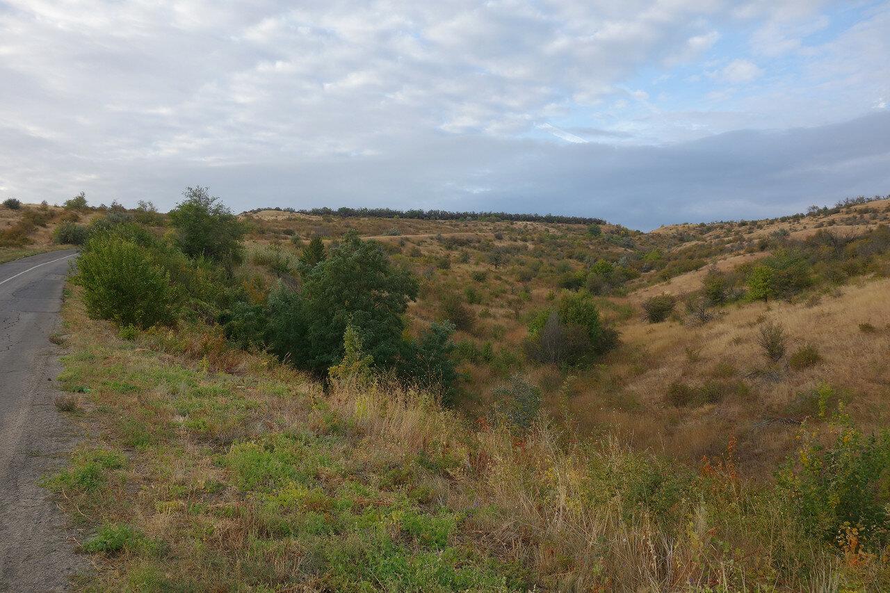 подъем у хутора Каныгин