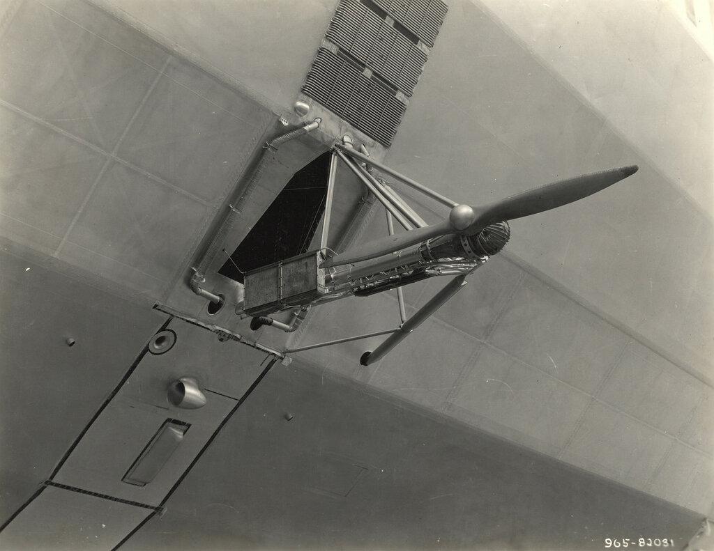 Propeller on a Dirigible