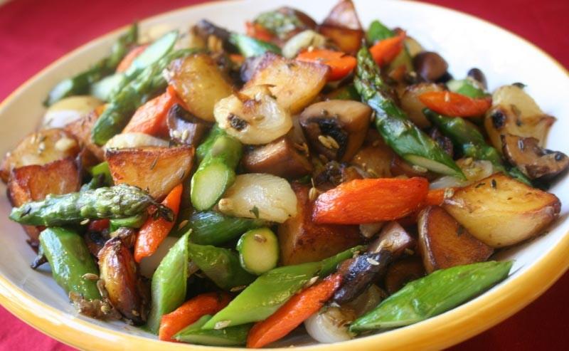 5. Варите овощи на пару или запекайте в духовке Если вы желаете питаться в лучших традициях здоровог