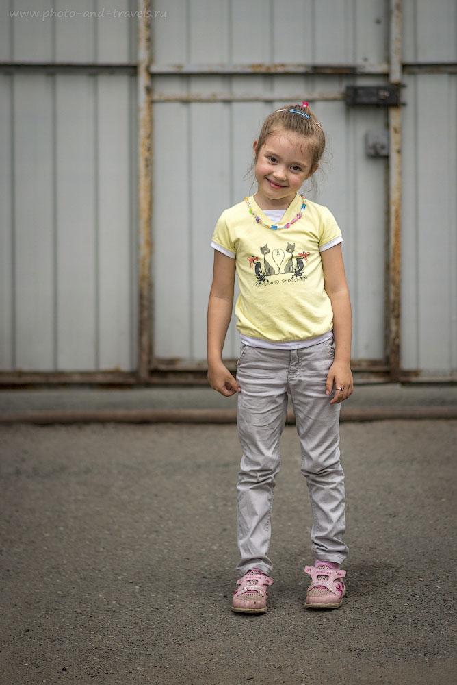 Фото 34. Детский портрет на камеру Nikon D800 и объектив с фиксированным фокусным расстоянием Nikkor 85/1.8G. 1/1600, 0.67, 1.8, 100, 85.