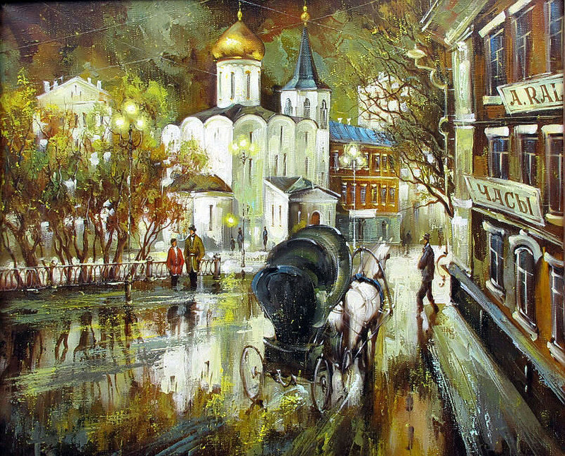 Остановись чудесное мгновение, Живопись художника Боева Сергея Юрьевича.