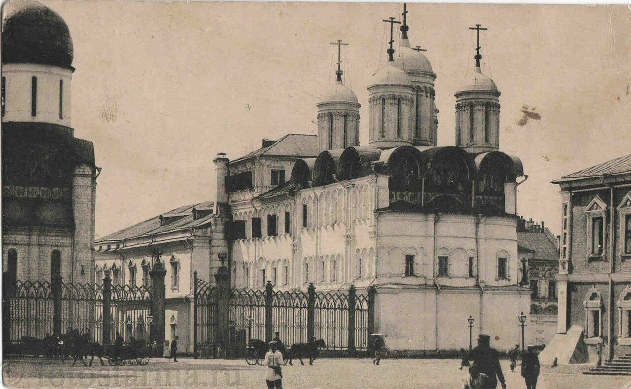 Кремль. Собор Двенадцати апостолов