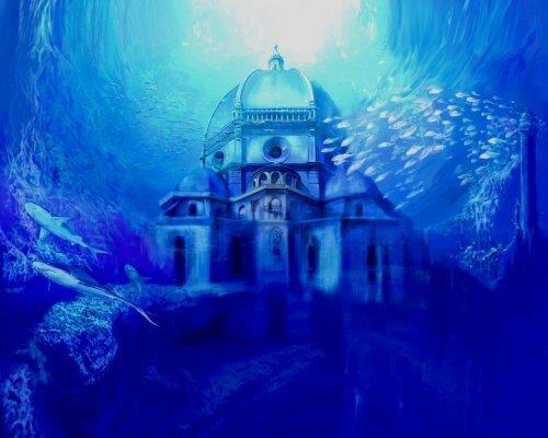 Подводный замок 0_1168c_764fcf94_L