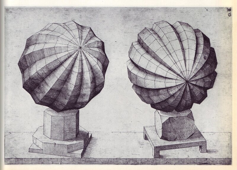 Perspectiva Corporum Regularium - Wenzel Jamnitzer 1568 k