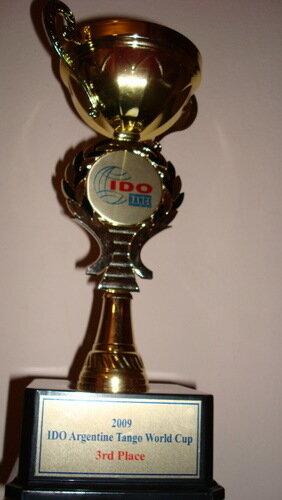 Кубок за третье место на Чемпионате Мира по Аргентинскому Танго