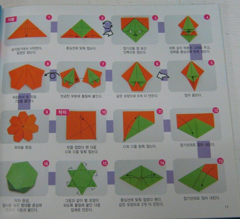 Зонтик из бумаги своими руками схема 75