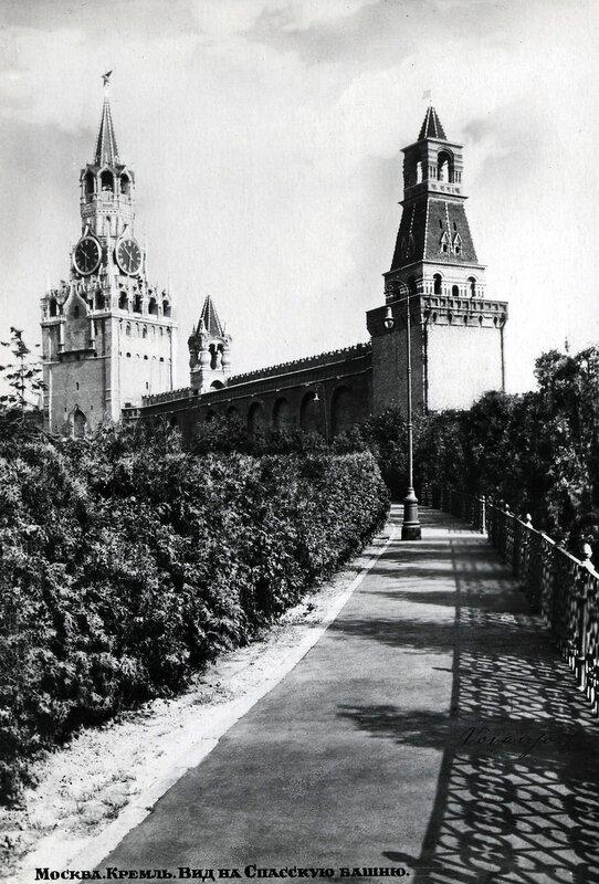 Москва. Кремль. Вид на Спасскую башню