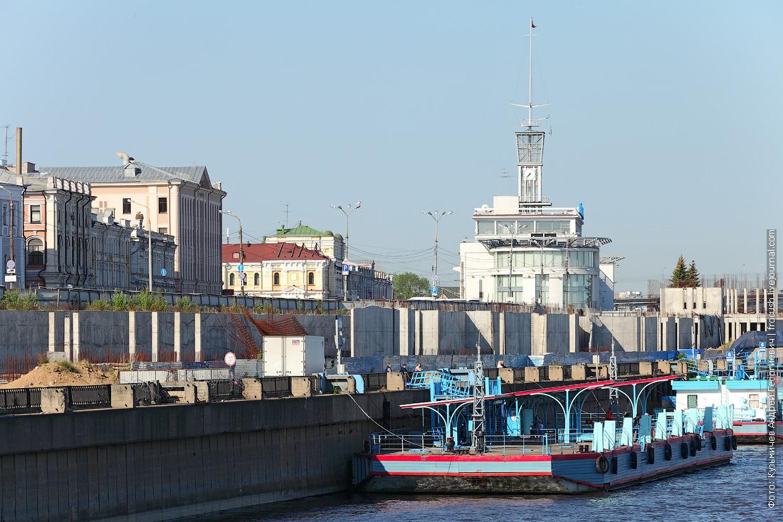 Нижний Новгород речной вокзал набережная