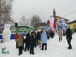 Открытие Снежного городка в поселке Новый