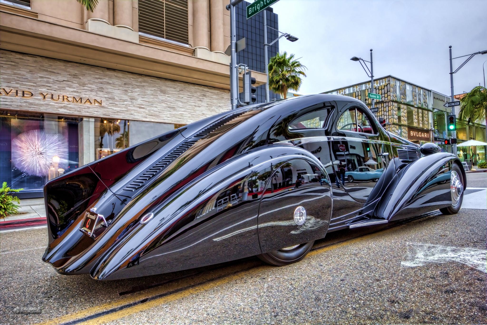 Rolls Royce Phantom I Jonckheere Coupe 1934