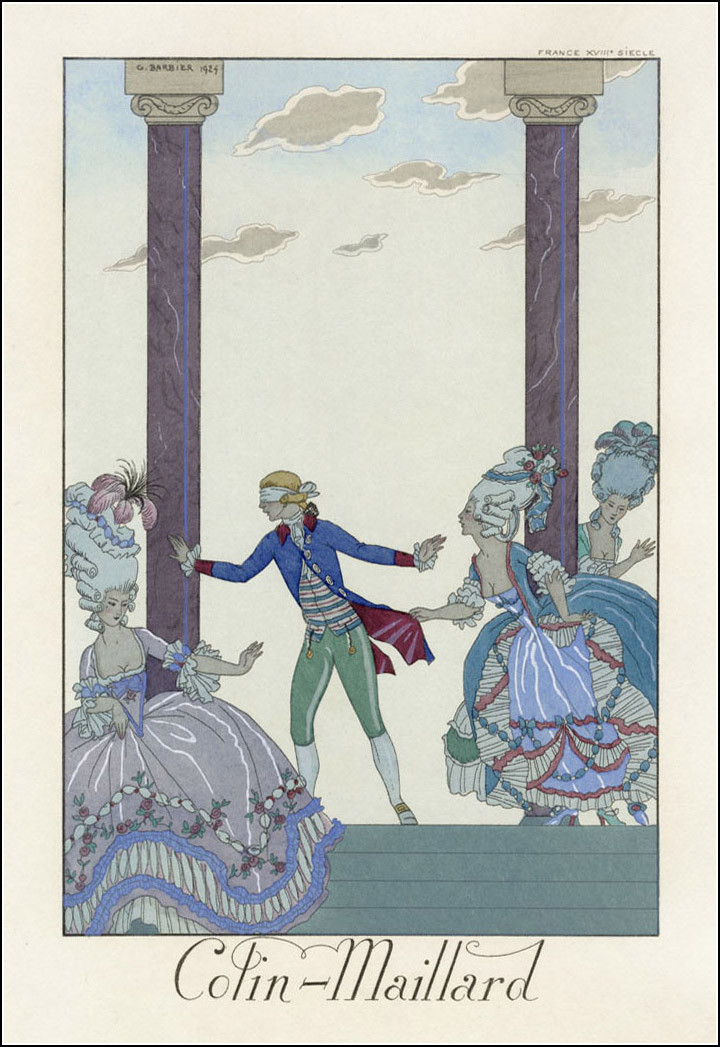 George Barbier, Falbalas et Fanfreluches