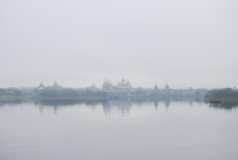 Кремль в тумане
