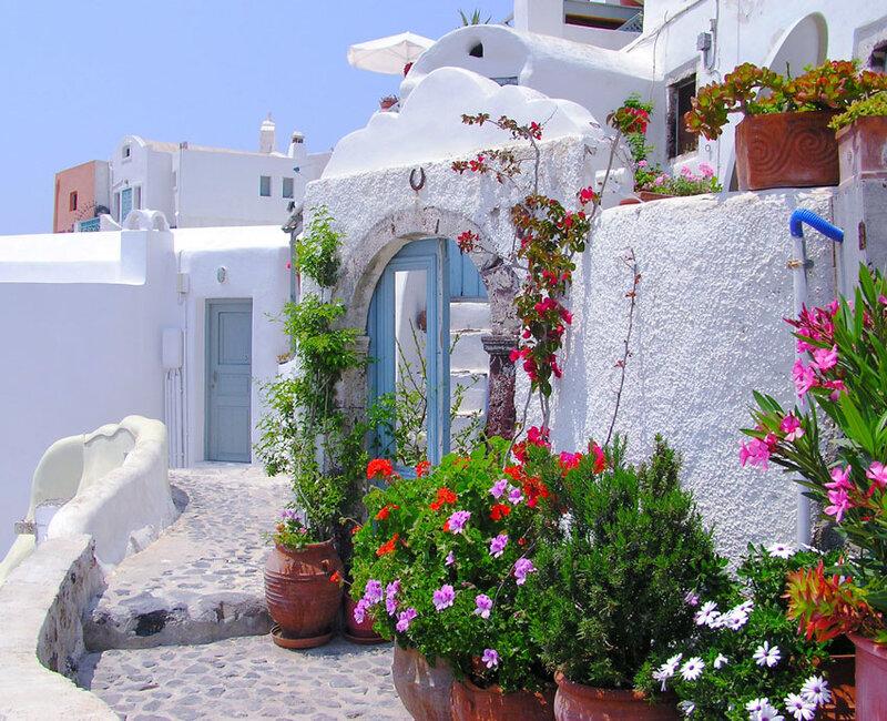 Купить дом в греции на берегу моря санторини