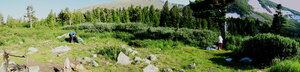 Стоянка на Хунул-Хузухе