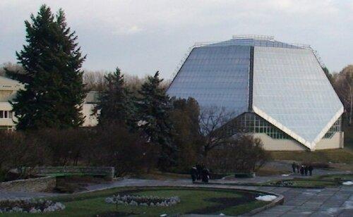 Национальный Ботсад. Оранжерейный комплекс. Фото сайта foto.mail.ru
